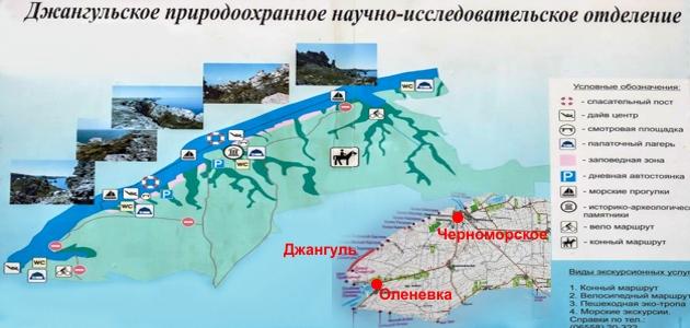 Джангуль-Тарханкут-Крым