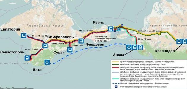 Единый билет - Крым