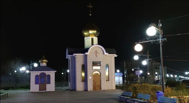 Межводное церковь. Межводное часовня Ольги равноапостольной.